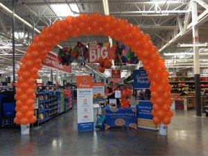 Local Walmart offers online order pickup!