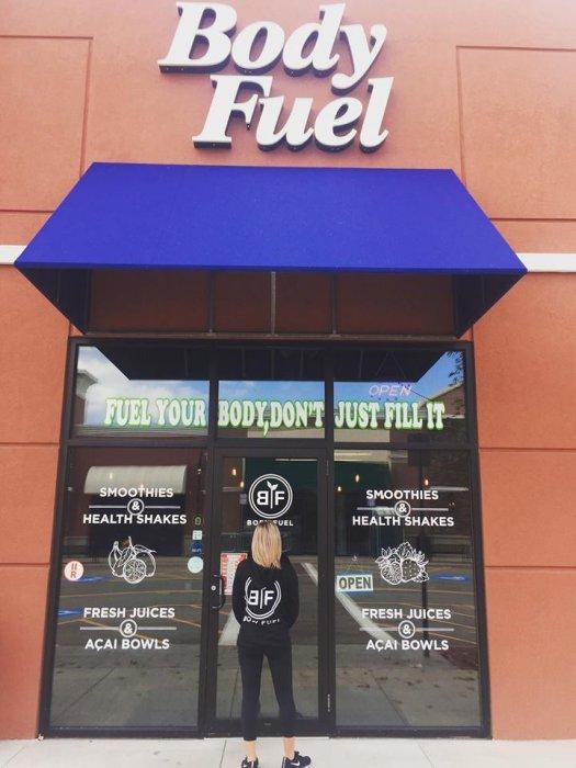 Body Fuel exterior
