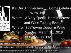 Come celebrate our anniversary with us!