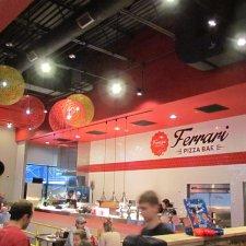 Ferrari Pizza Bar interior