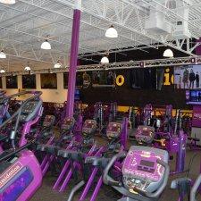 Planet Fitness interior